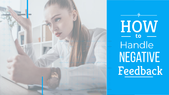 It is very important to know as to how to handle negative feedback from customers