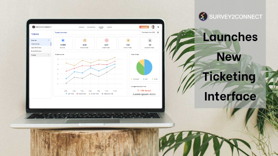 The new ticket interface allows you to have more control over your ticket tracking