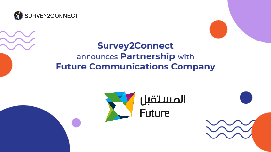 Survey2Connect partnership announcement with Future Communications Company that would allow businesses in Kuwait to access CX platform